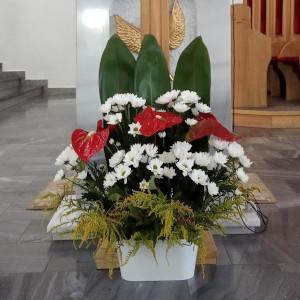 Kompozycje kwiatowe<br>Dekoracje