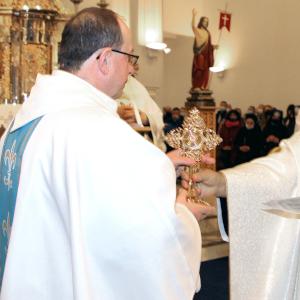 Relikwie<br>św. Maksymiliana